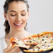Delicious pizza — Stock Photo