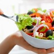 Stock Photo: Delicious salad