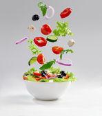 Delicious salad — Stock Photo