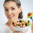 Eating healthy food — Stock Photo #12401648
