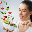 Stockfoto: Eating healthy food