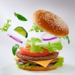 Stock Photo: Burger
