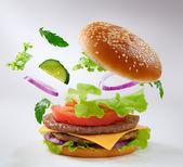 Burger — Stock Photo