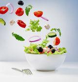 Vegetariánský salát — Stock fotografie