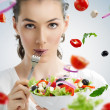 Eating healthy food — Stock Photo #13339980