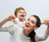 幸福的家庭 — 图库照片