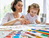 Bright paints — Stock Photo