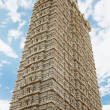 Gopuram tower in the temple of Shiva - Stock Photo