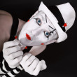 Stock Photo: Portrait of theater actor with mime makeup