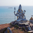 Stock Photo: Large statue of Shiva