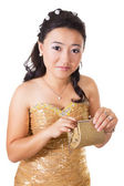 Beautiful woman of Asia — Stock Photo