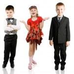 Fashionable children — Stock Photo #5250805