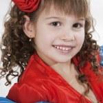 Little girl dancer. — Stock Photo #5267077