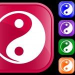 Icon of Tao faith — Stock Vector #1620132