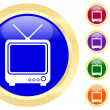 Icon of TV — Stock Vector #1620493