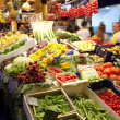 Stock Photo: Fruits market, in La Boqueria, market Barcelona