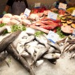 Fresh fishes in a market — Stock Photo #12798993