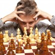 The chess player — Stock Photo #12799285