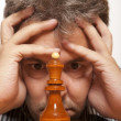 The chess player — Stock Photo