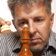 The chess player — Stock Photo #12799298