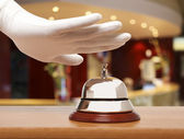 Hotel bell — Stock Photo