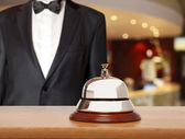 Hotel Concierge — Stockfoto