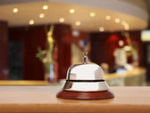 Old hotel bell — Stock Photo