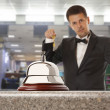 Hotel Concierge — Stock Photo