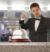 Hotel Concierge — Stock Photo