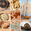 Stock Photo: Marine collage