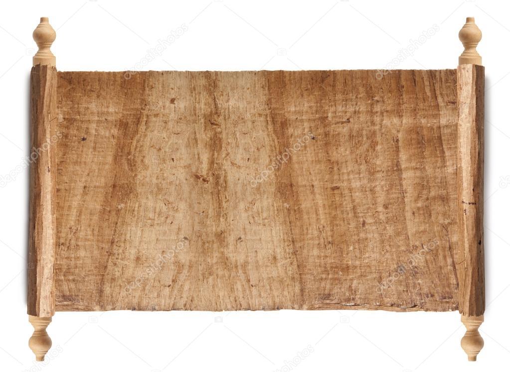 Horizontal Ancient Scroll