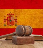 Bandeira da espanha — Fotografia Stock