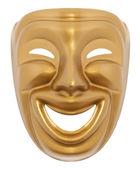 Máscara teatral comedia — Foto de Stock