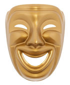Comedy theatrical mask — Stock Photo