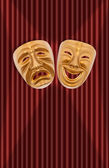 Theatrical mask — Stock Photo