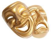 Theater maske isoliert — Stockfoto
