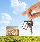 Key and house — Stock Photo