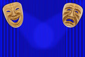 Theatrical mask — Foto de Stock