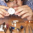 Stock Photo: Watchmaker
