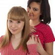 Two young girl friends — Stock Photo #23390120