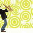 Saxophonist — Stock Photo #23856781