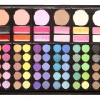 Stock Photo: Makeup palettes