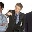Business conflict — Stock Photo