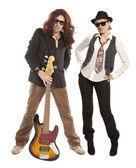 Couple duet — Stock Photo