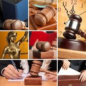 Set of Law — Stock Photo