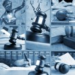 Stockfoto: Set of Law