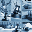 Set of Law — Stockfoto