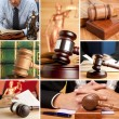Stock Photo: Set of Law 5