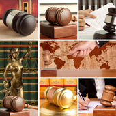 Set of Law 4 — Foto Stock