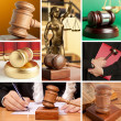 Stock Photo: Set of Law 7